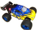 [TOP Li-Po] Truggy Monster HSP 1:8 Brushless LIPO EDITION Azul-negro coche brushless radio control 94061